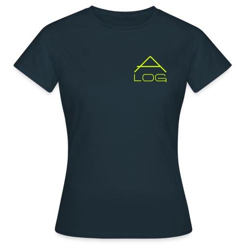 CLASSIC SHIRT / FEMALE / LOGOS YELLOW - Frauen T-Shirt