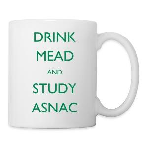 Drink Mead and study ASNC mug - Mug