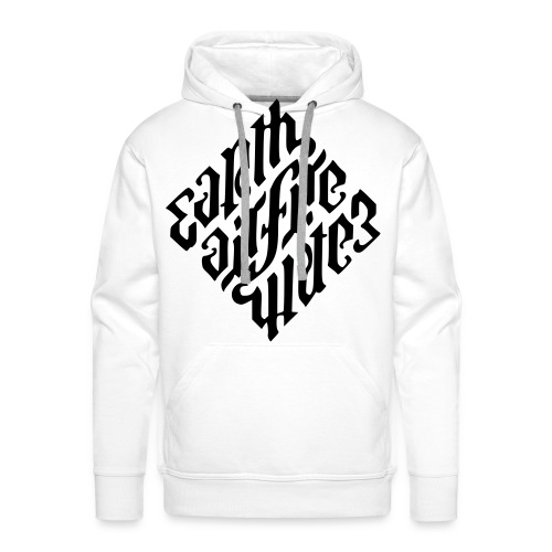 Earth-Diffie-Water Illuminati Elements - Mannen Premium hoodie