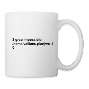 Hacker vaillant, rien d'impossible - Tasse