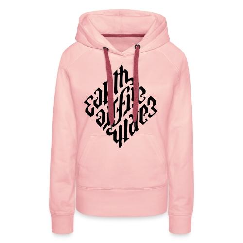 Earth-Diffie-Water Illuminati Elements - Vrouwen Premium hoodie