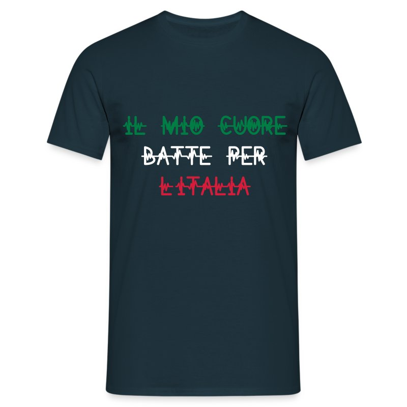 heart_for_italy - T-shirt Homme