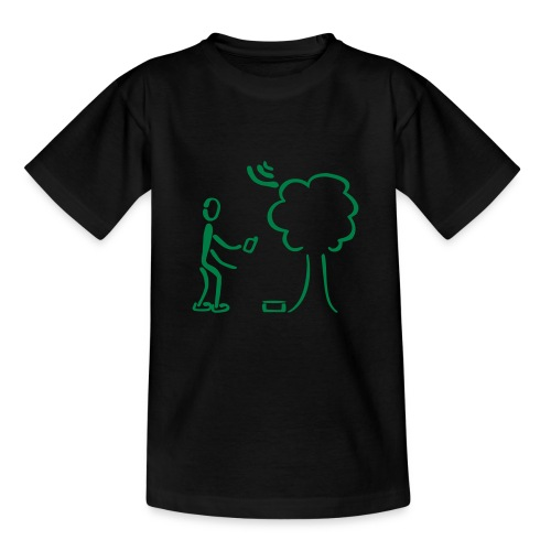 Geocaching Shirt - Teenager T-Shirt