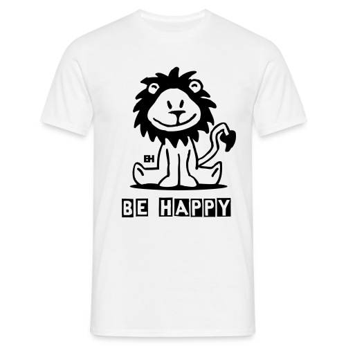 Be Happy - Men's T-Shirt