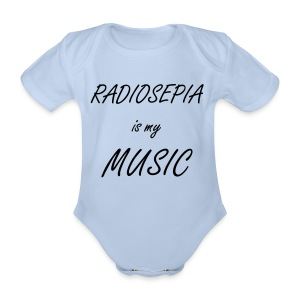 Baby Body (Boy) - Organic Short-sleeved Baby Bodysuit