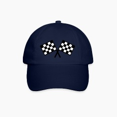 flags - car race Caps & Hats