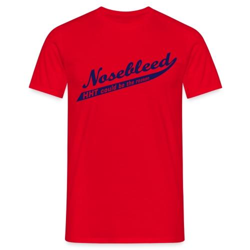 ts-nosebleed-blue - Männer T-Shirt