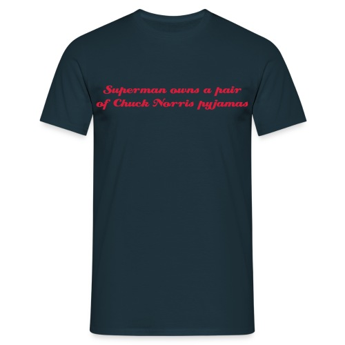 Chuck pyjamas Tee - Men's T-Shirt