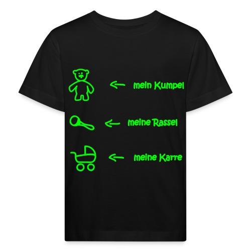 mein Kumpel, meine Rassel, ... - Kinder Bio-T-Shirt