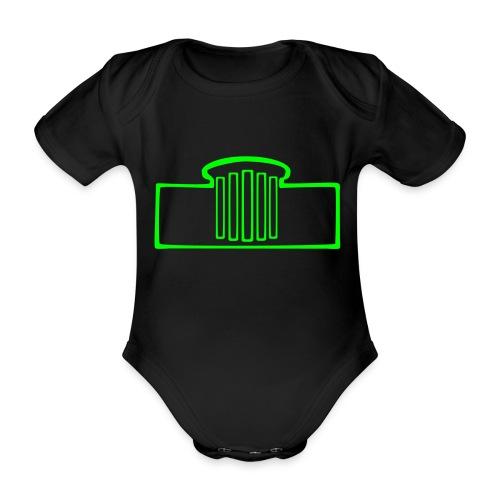 Elisenbrunnen Aachen Body - Baby Bio-Kurzarm-Body