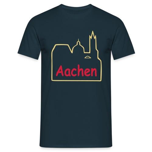 Dom zu Aachen Shirt - Männer T-Shirt