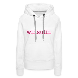 winsulin Ladies hoodies - Women's Premium Hoodie