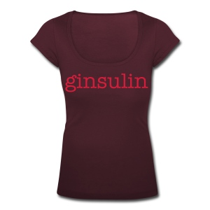 Ginsulin Womens scoop - Women's Scoop Neck T-Shirt
