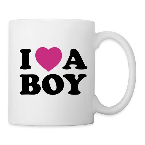 Mug I Love a Boy - Mug blanc