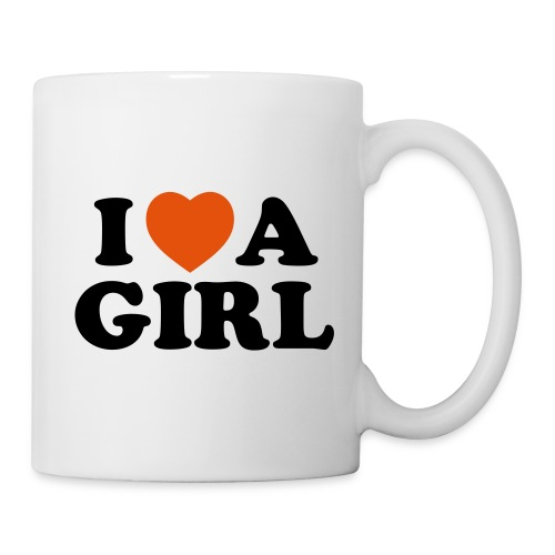 Mug I Love a Girl - Mug blanc