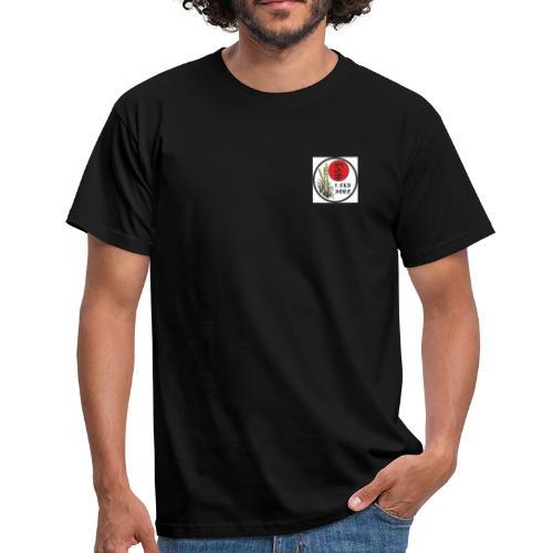 Nur Frontlogo Flexdruck - Männer T-Shirt