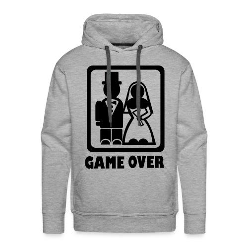 Game Over - Mannen Premium hoodie