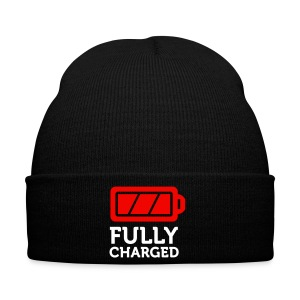 Fully Charged Wolly Hat - Winter Hat