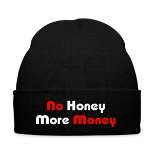 No Honey More Money Wolly Hat - Winter Hat