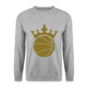 Basketball Crown Sweatshirt - Men's Sweatshirt