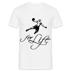 Basketball for life T-shirt - Men's T-Shirt