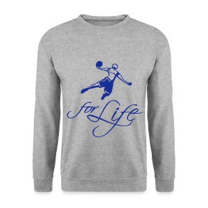 Basketball for life Sweatshirt - Men's Sweatshirt