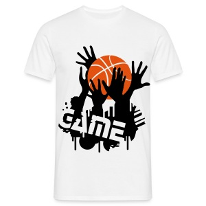 Basketball Game T-shirt - Men's T-Shirt