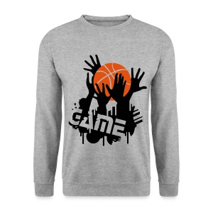 Basketball Game Sweatshirt - Men's Sweatshirt