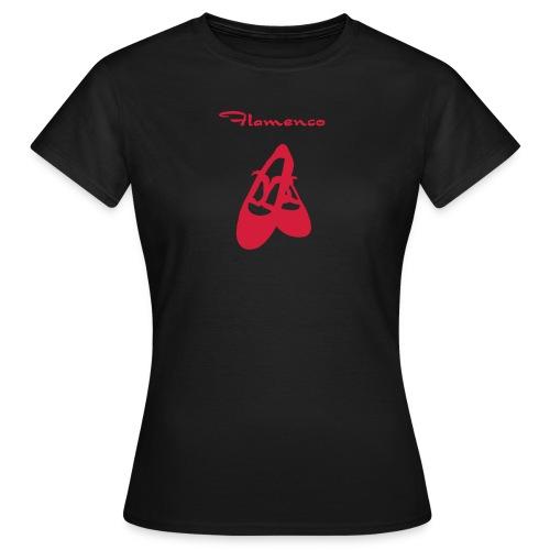 Flamencoschuhe  - Frauen T-Shirt