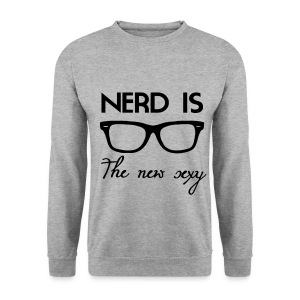 Nerd is the new sexy Sweatshirt - Men's Sweatshirt