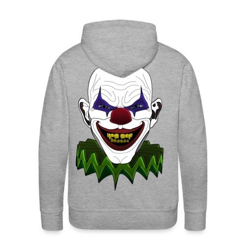 Evil clown hoodie - Men's Premium Hoodie
