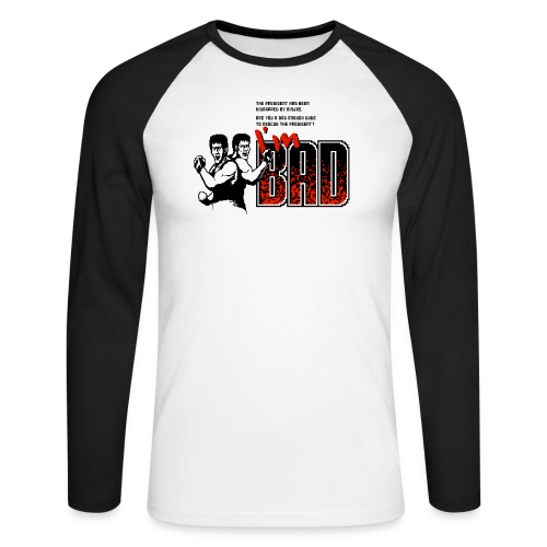 Rescue Ronnie - Men's Long Sleeve Baseball T-Shirt
