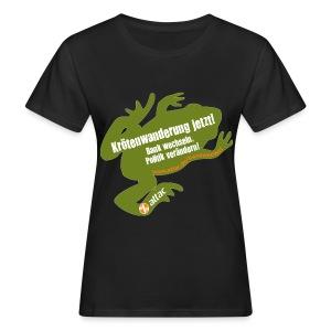 Attac Krötenwanderung für Frauen - Frauen Bio-T-Shirt