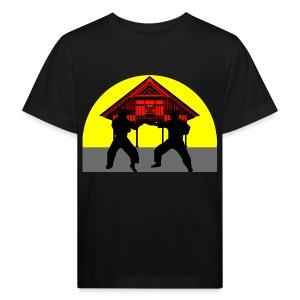 T shirt enfant temple combat - T-shirt bio Enfant