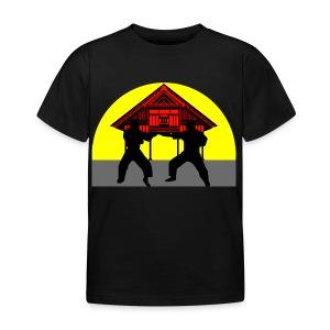 T shirt enfant temple combat - T-shirt Enfant
