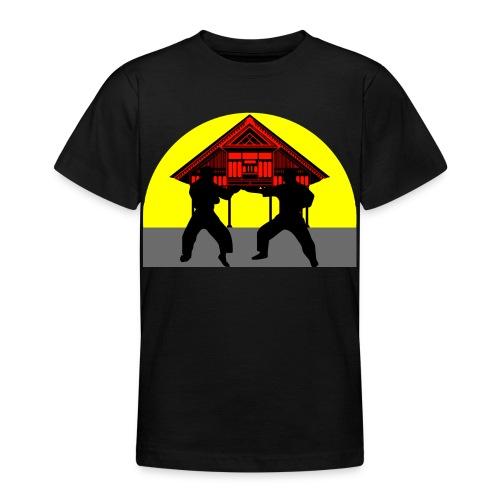 T shirt ado temple combat - T-shirt Ado