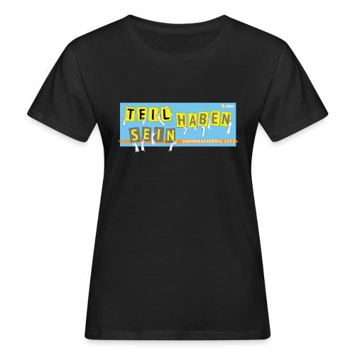 Sommerakademie 2012 Girly - Frauen Bio-T-Shirt