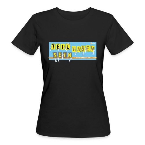 Sommerakademie 2012 Girly - Frauen Bio-T-Shirt