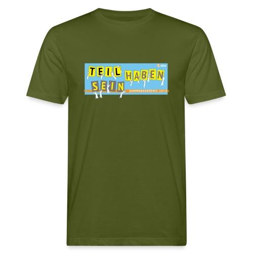 Sommerakademie 2012 Unisex - Männer Bio-T-Shirt
