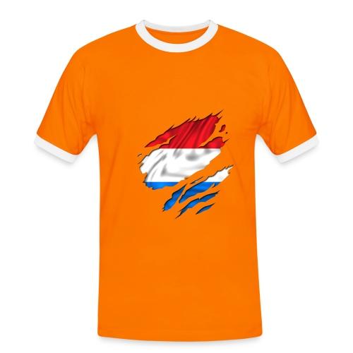 De Vrijetijdskrant-viva Holland - Mannen contrastshirt