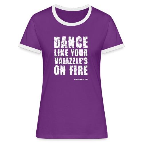 VAJAZZLE 1 // DIGITAL-DIRECT // WOMEN'S CONTRAST - Women's Ringer T-Shirt