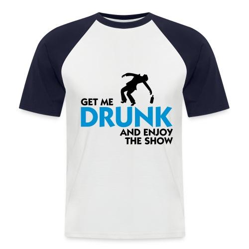 Drank - Mannen baseballshirt korte mouw