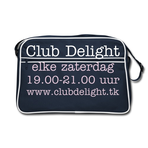 Club Delight tas - Retro-tas