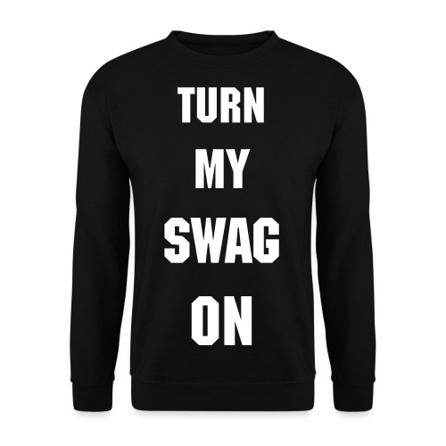 CREWNECK TURN MY SWAG ON. - Herre sweater