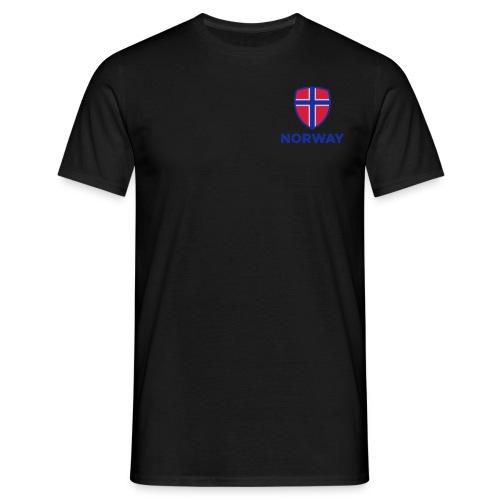Norway - T-skjorte for menn