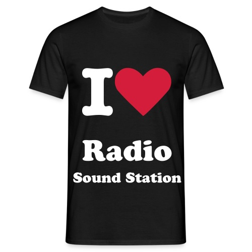 I love Radio Sound Station - T-Shirt (MAN) - Maglietta da uomo