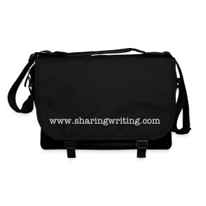 Shoulder Bag - White text - Shoulder Bag