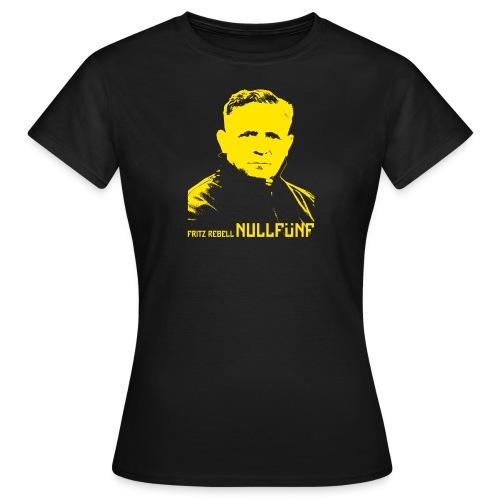 NULLFÜNF Fritz Rebell [feminin] - Frauen T-Shirt