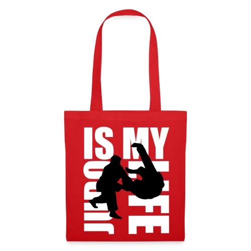 Sac judo is my life - Tote Bag