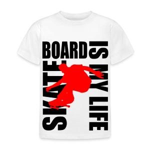T shirt enfant skateboard is my life - T-shirt Enfant